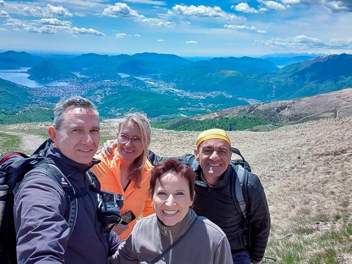 Wanderung zur Monte Bar Hütte