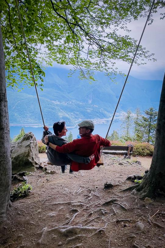 Swing the World im Parco San Grato