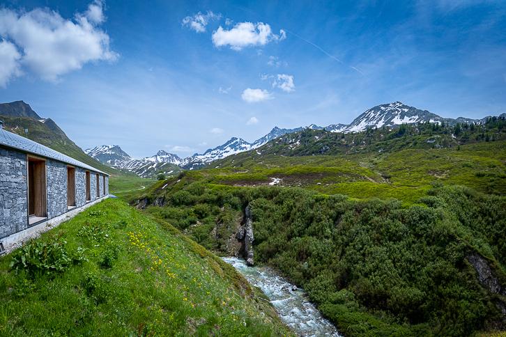 SAC-Hütte Cadagno an Murinascia Grande
