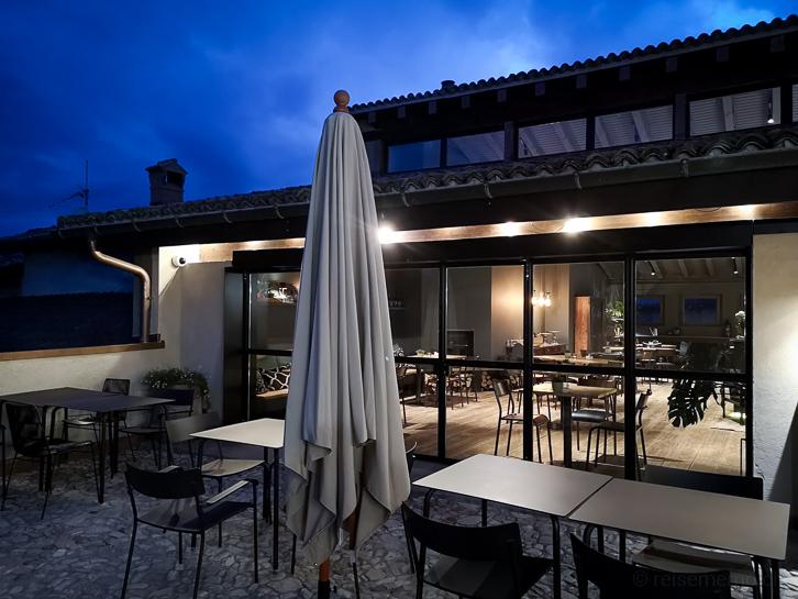 Hotelrestaurant abends