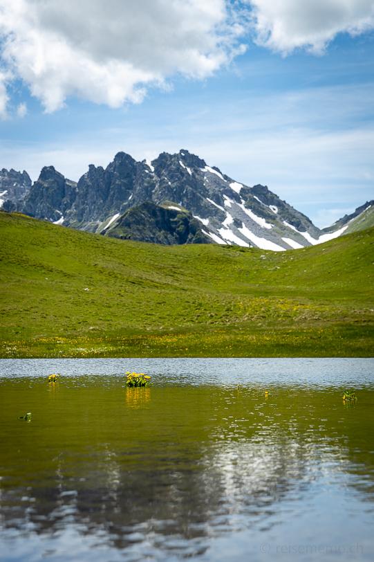 2-Seen Wanderung beim Pizol