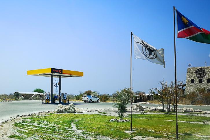 Petrosol Tankstelle Etosha Trading Post
