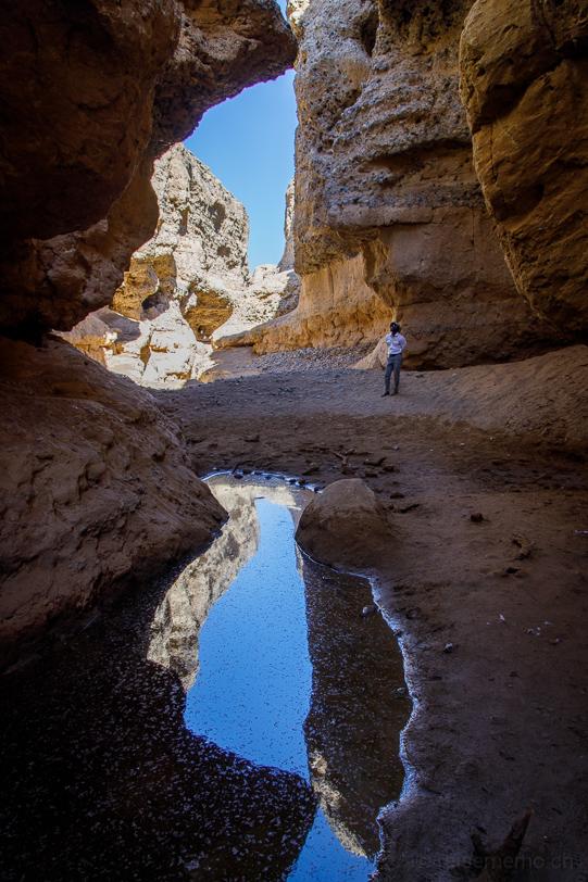 Sesriem Canyon mit Guide